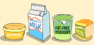 critica dietei fara grasimi